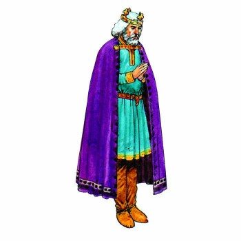 King Edward the Confessor Cardboard Cutout