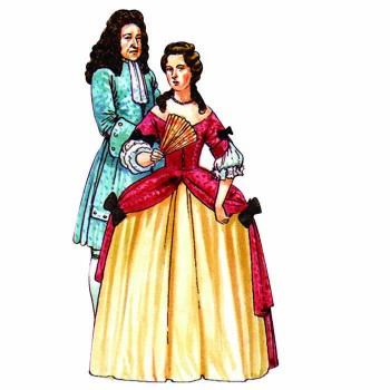 William III and Mary II Cardboard Cutout - $0.00