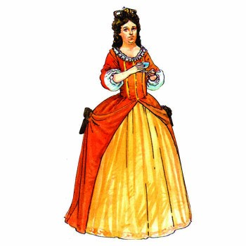 Queen Anne Cardboard Cutout - $0.00