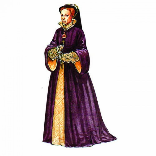 Queen Mary I Bloody Mary Cardboard Cutout