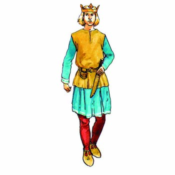 King Edward the Martyr Cardboard Cutout