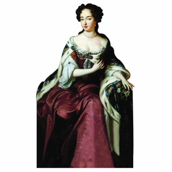 Queen Mary II Cardboard Cutout - $0.00