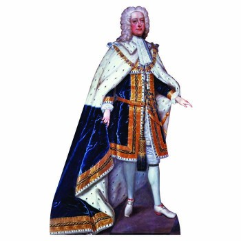 King George II Cardboard Cutout - $0.00