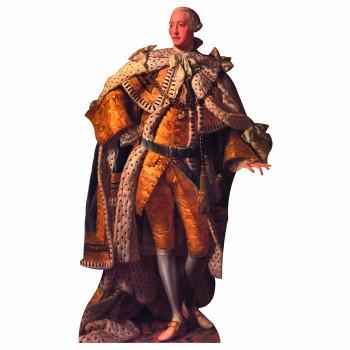 King George III Cardboard Cutout