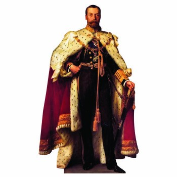 King George V Cardboard Cutout - $0.00