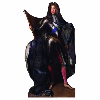 King James II Cardboard Cutout - $0.00