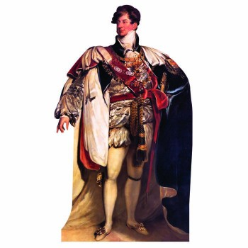 King George IV Cardboard Cutout - $0.00