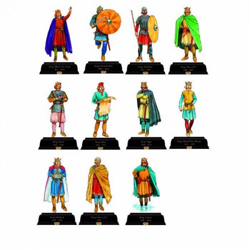 British Kings and Queens Pack 0 871-Current Cardboard Cutout