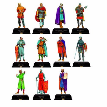 British Kings and Queens Pack 2 1035-1216 Cardboard Cutout - $0.00