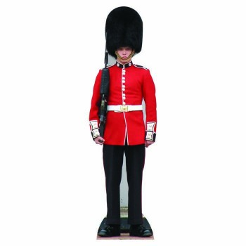 British Palace Guard Cardboard Cutout