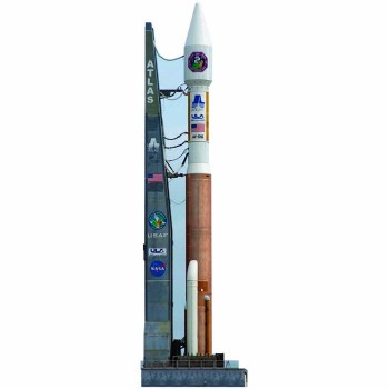 NASA Atlas Rocket Cardboard Cutout - $0.00