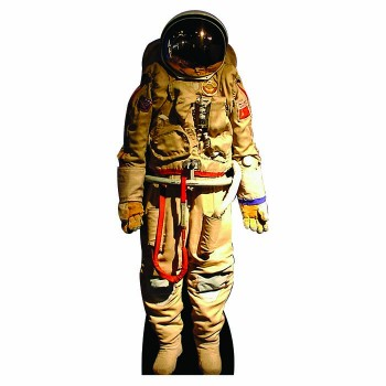 Russian Cosmonaut Space Suit Cardboard Cutout - $0.00