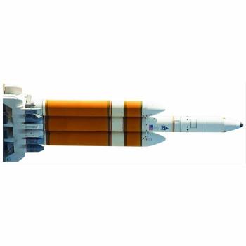 NASA Delta IV Rocket Cardboard Cutout