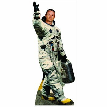 Astronaut to the Moon Cardboard Cutout