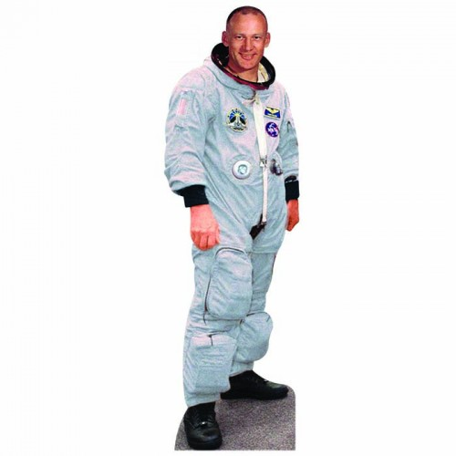 Astronaut Without Helmet Cardboard Cutout