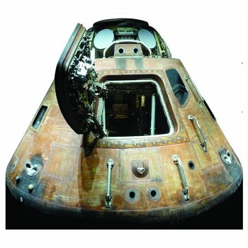 NASA Apollo 11 Capsule Cardboard Cutout - $0.00