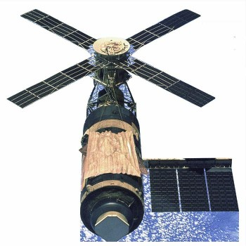 NASA Skylab Space Station Cardboard Cutout - $0.00