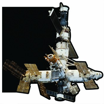 Mir Russian Space Station Cardboard Cutout