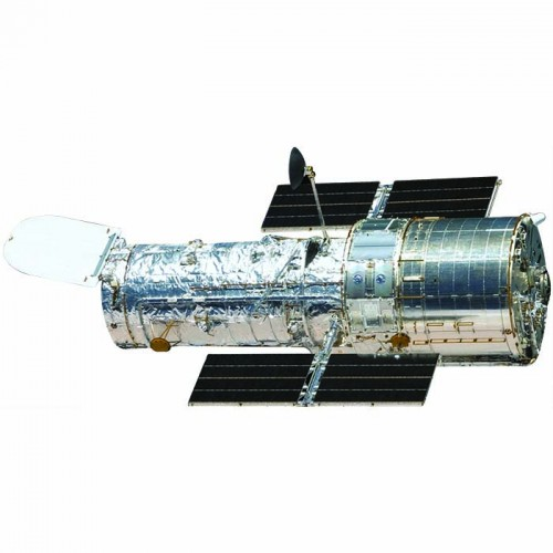 Hubble Space Telescope Cardboard Cutout
