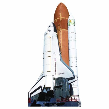 Space Shuttle Enterprise Cardboard Cutout - $0.00