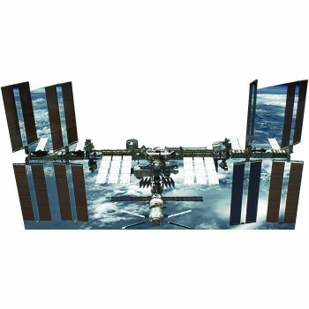 International Space Station Space NASA Cardboard Cutout