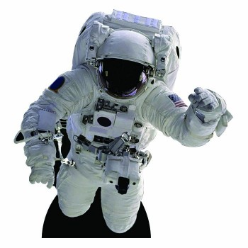 Astronaut Floating Cardboard Cutout