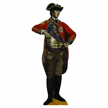 William Howe Cardboard Cutout - $0.00