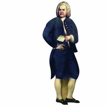 Johann Sebastian Bach Cardboard Cutout - $0.00