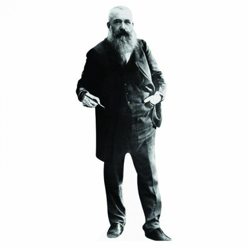 Claude Monet Cardboard Cutout
