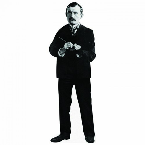 Painter Edvard Munch Cardboard Cutout