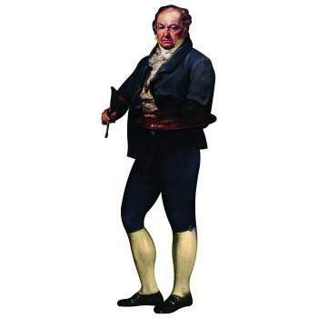 Painter Francisco Goya Cardboard Cutout - $0.00