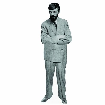 D. H. Lawrence Cardboard Cutout - $0.00