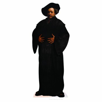 Rembrandt the Painter Cardboard Cutout - $0.00
