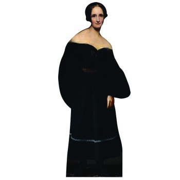 Mary Shelley Cardboard Cutout - $0.00