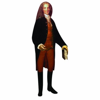 Voltaire Cardboard Cutout - $0.00