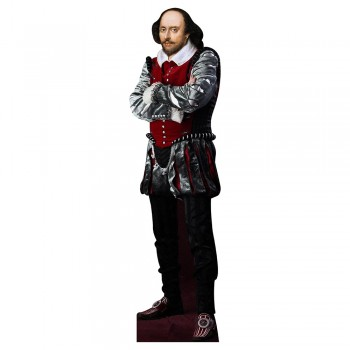 William Shakespeare Cardboard Cutout - $0.00