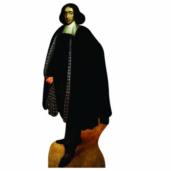 Benedict de Spinoza Cardboard Cutout - $0.00