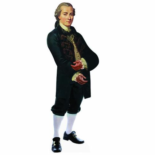 Immanuel Kant Cardboard Cutout