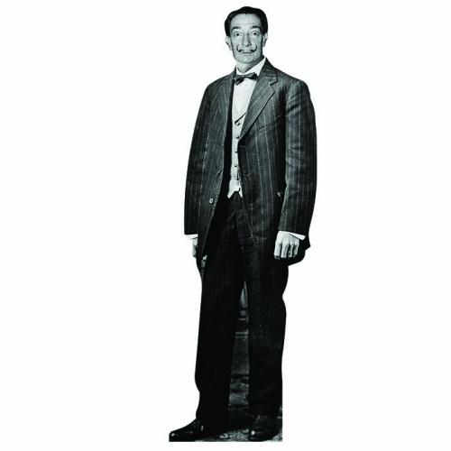 Salvador Dali Cardboard Cutout