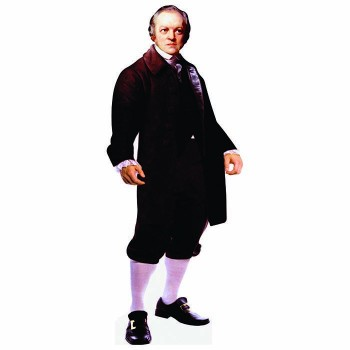 William Blake Cardboard Cutout - $0.00