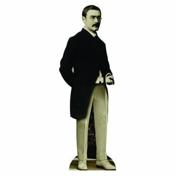 Rudyard Kipling Cardboard Cutout - $0.00