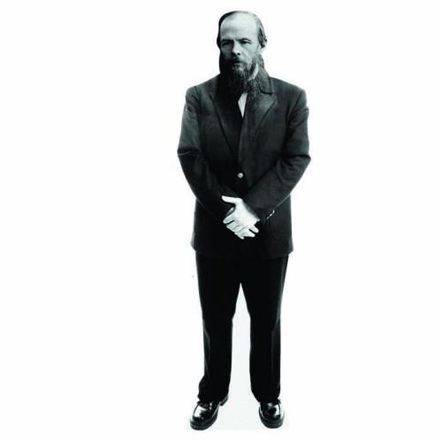 Fyodor Dostoyevsky Cardboard Cutout