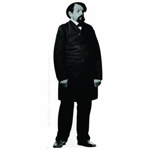 Claude Debussy Cardboard Cutout