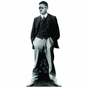 James Joyce Cardboard Cutout - $0.00