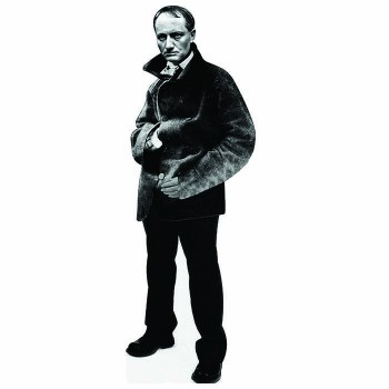 Charles Baudelaire Cardboard Cutout