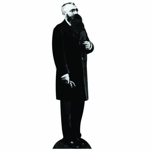 Auguste Rodin Cardboard Cutout