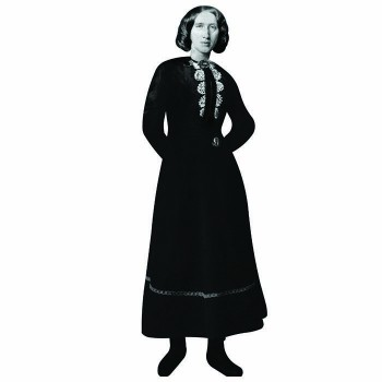 George Eliot Cardboard Cutout - $0.00