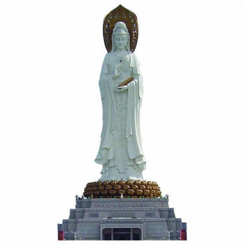 Guan Yin of the South Sea of Sanya Cardboard Cutout