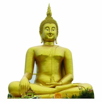 Great Buddha of Thailand Cardboard Cutout - $0.00