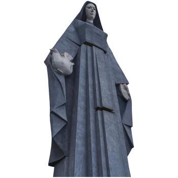 Virgen de la Paz Cardboard Cutout - $0.00